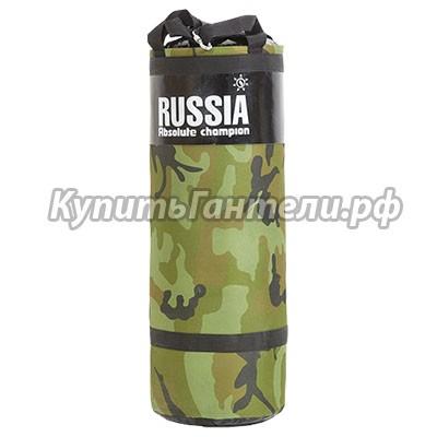 Мешок боксерский Армейский 30кг (L78см, D29см)
